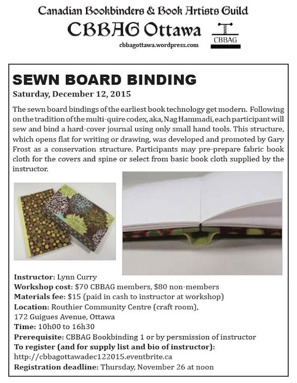 sewn board binding