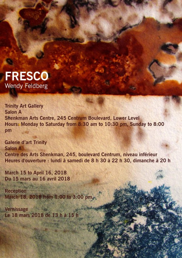 Poster for Wendy Feldberg's Fresco, 2018