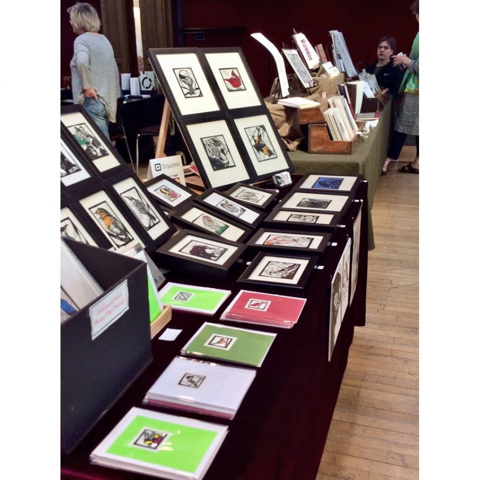 Expo-vente Arts du livre 2018 - photo