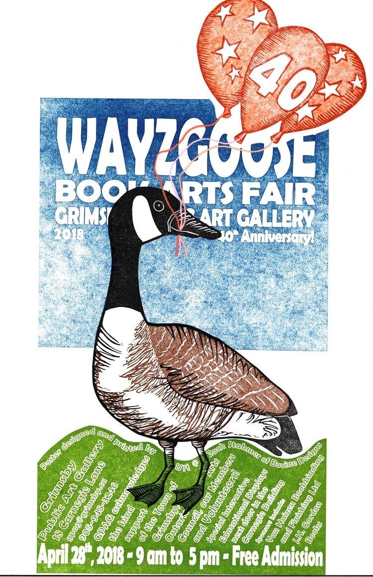 Wayzgoose 2018 poster
