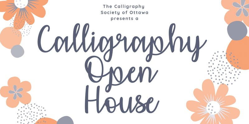 CSO Calligraphy Open House at Wallack's