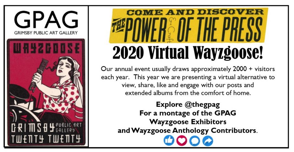 Wayzgoose Virtual Event 25 April 2020
