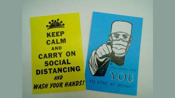 Weathervane Press postcards